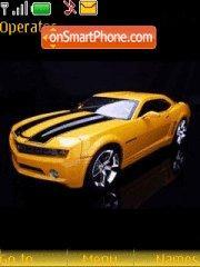 Yellow Camaro theme screenshot
