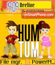 Hum Tum theme screenshot