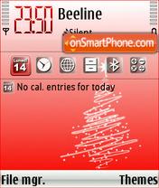 Natale 2008 es el tema de pantalla