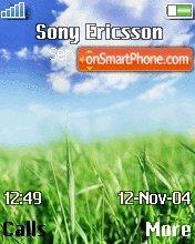 Sky theme screenshot