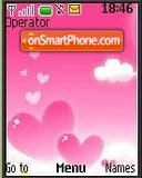 Pink & White Hearts es el tema de pantalla