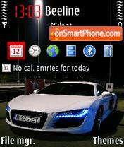Audi R8 V5 es el tema de pantalla