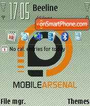 Mobilearsenal FP2 DFLT theme screenshot