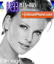 Charlize Theron 1 es el tema de pantalla