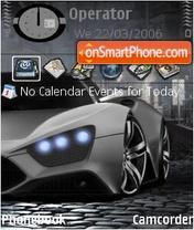 Zenvo ST1 es el tema de pantalla