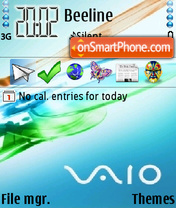 Vista 10 theme screenshot