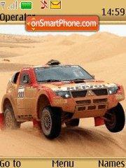 Dakar pajero Evo2007 theme screenshot