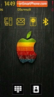 Apple 11 tema screenshot