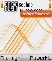 Touch Orange Mod Os7 theme screenshot