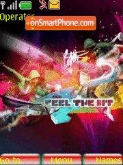 Feel The Beat tema screenshot