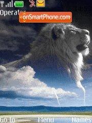 Sky Lion theme screenshot