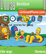 Simpsons 04 es el tema de pantalla