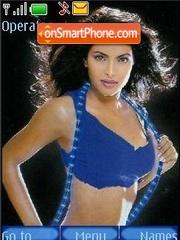 Priyanka Chopra theme screenshot