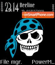 Cool Skull theme screenshot