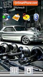 Mustang V5 theme screenshot