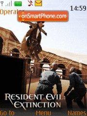 Resident Evil 3 theme screenshot