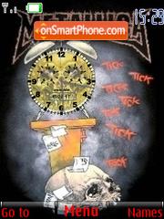 Metallica Clock es el tema de pantalla