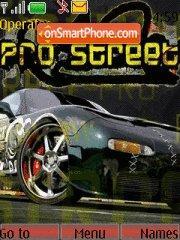 Nfs Pro Street 06 es el tema de pantalla