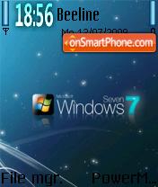 Win Seven 01 theme screenshot