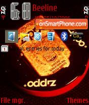ZIPPO 1 RD theme screenshot