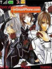 Vampire Knight theme screenshot