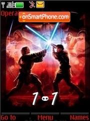 Star Wars (SWF Clock) tema screenshot
