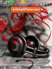 Headphone 01 tema screenshot