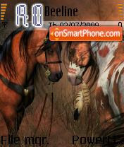 Horses 05 theme screenshot