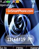 Artistic Swf Clock theme screenshot