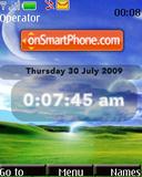 Xp Artistic Swf Clock theme screenshot