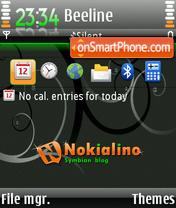 Nokialino 03 es el tema de pantalla