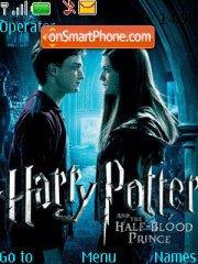 Harry Potter and the Half-Blood Prince es el tema de pantalla