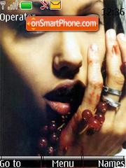 Angelina Jolie theme screenshot