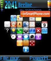 Myphone es el tema de pantalla