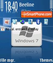 Windows 7 10 theme screenshot