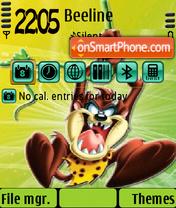 Taz2 theme screenshot