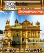 Golden Temple 01 es el tema de pantalla