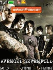 Avenged Sevenfold 02 theme screenshot