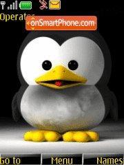 Baby Linux es el tema de pantalla