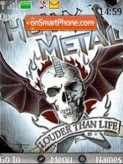 Heavy Metal tema screenshot