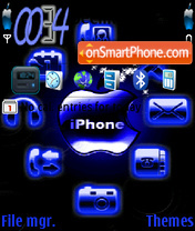 Iphone Flash theme screenshot