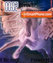 Winged Horsy theme screenshot
