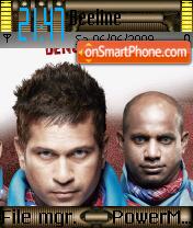 Mumbai Indians 01 theme screenshot