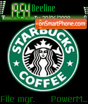 Starbucks Coffee theme screenshot