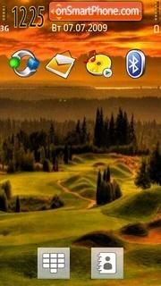 Hillside theme screenshot
