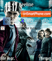 Harry Potter and the Half-Blood Prince 2 es el tema de pantalla