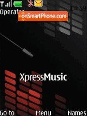 Nokia XpressMusic es el tema de pantalla