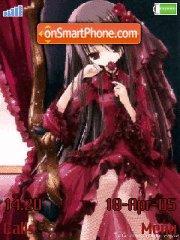 Gothic Lolita es el tema de pantalla