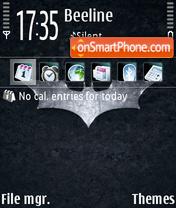 Bat Logo es el tema de pantalla