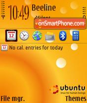 Ubuntu NB TI FP1 theme screenshot